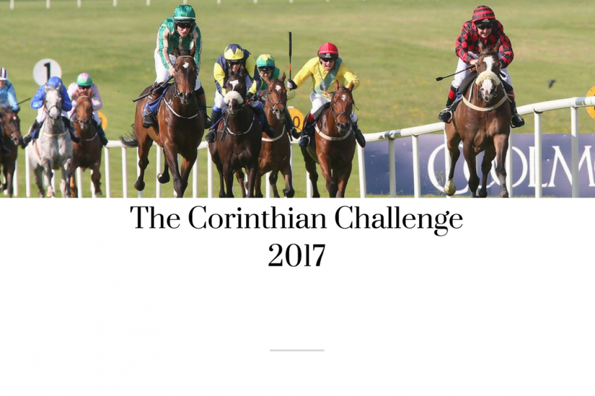 Update on The Corinthian Challenge , 13 riders declared for Curragh Sunday 16th July