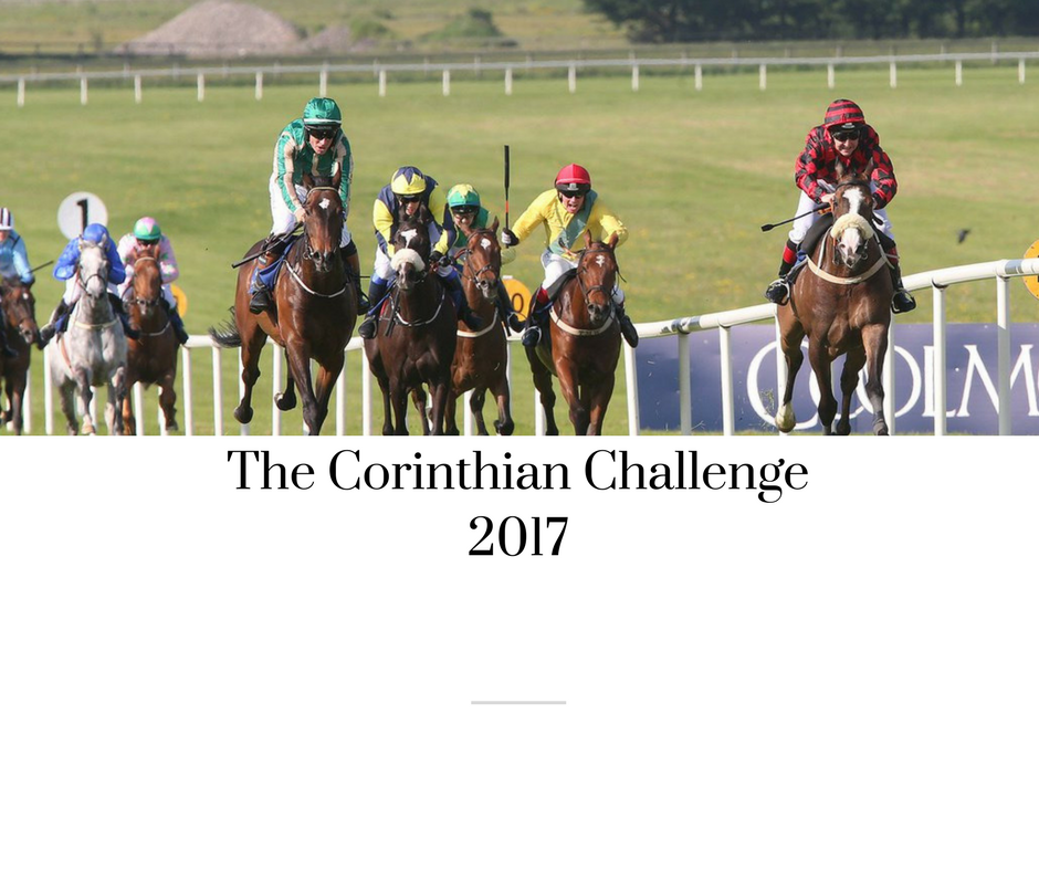 JESSICA O'GARA AND DIANA HOGAN MURPHY WILL COMPLETE IN THIS YEAR'S CORINTHIAN CHALLENGE BRINGING THE TOTAL NUMBER OF RIDERS THIS YEAR TO FOURTEEN
