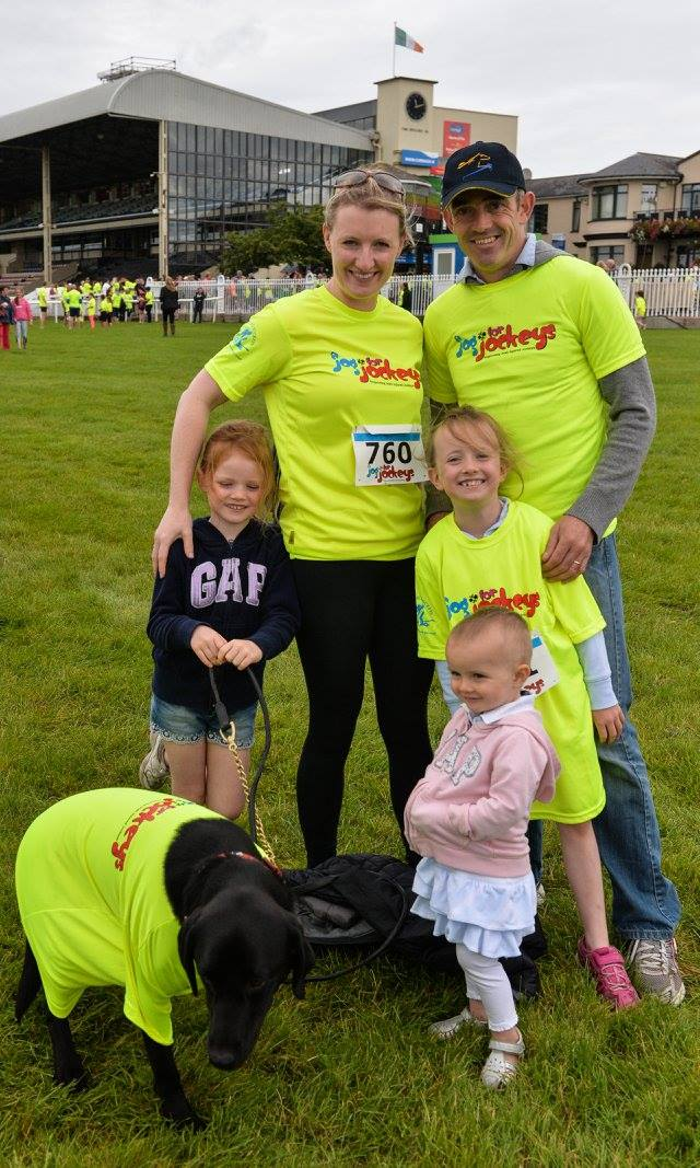 "Jog for Jockeys ""Team of 5"" Perfect Day Out for Family's – Running Clubs – Corporate Teams"