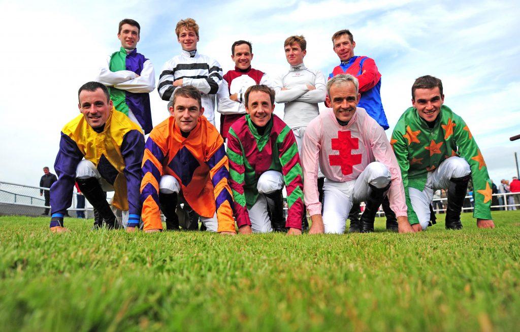 Racing Stars Under Starters Orders for Jog for Jockeys at Curragh on John Sisk & Son Race Day  Saturday September 1st