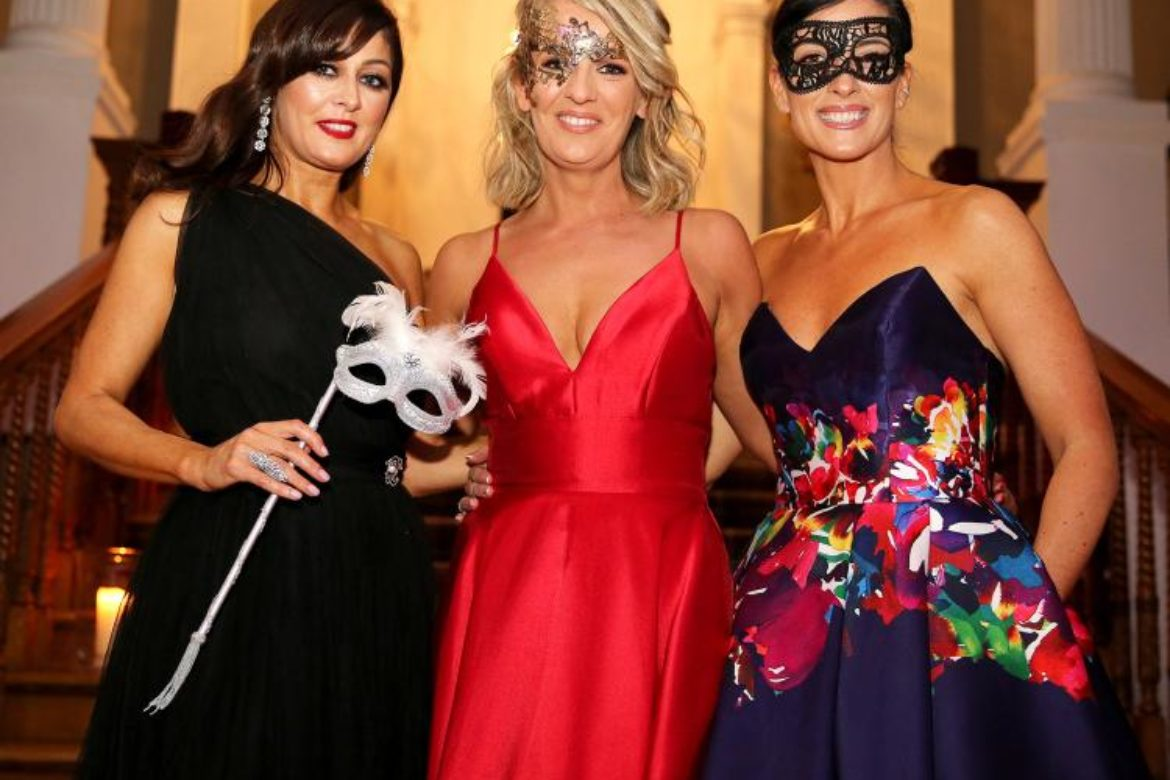 Masquerade Ball at Palmerstown House Estate in aid of Irish Injured Jockeys