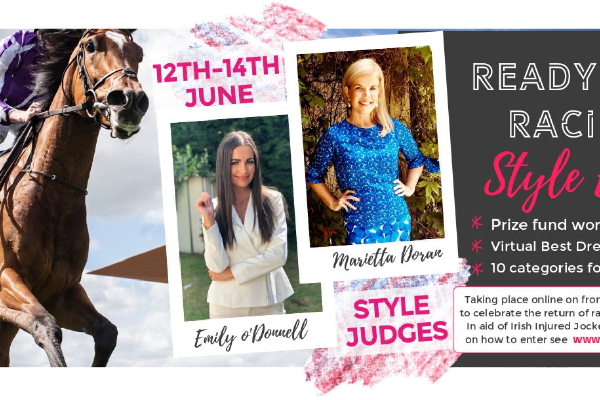 'Ready For Racing' Virtual Style Event in association with the Irish Injured Jockeys Fund