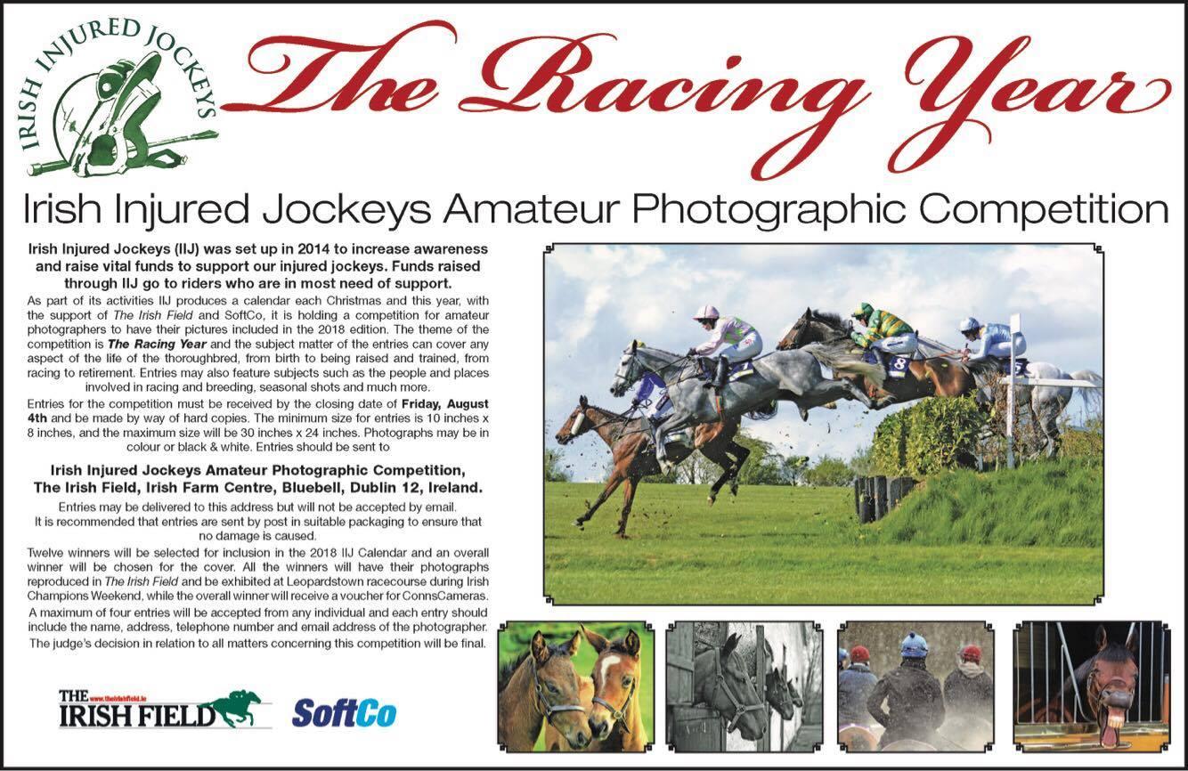Irish Injured Jockeys Amateur Photographic Competition