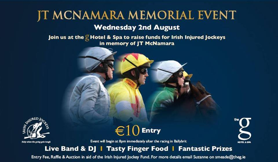 Tickets Now On Sale For J.T. McNamara Memorial Event