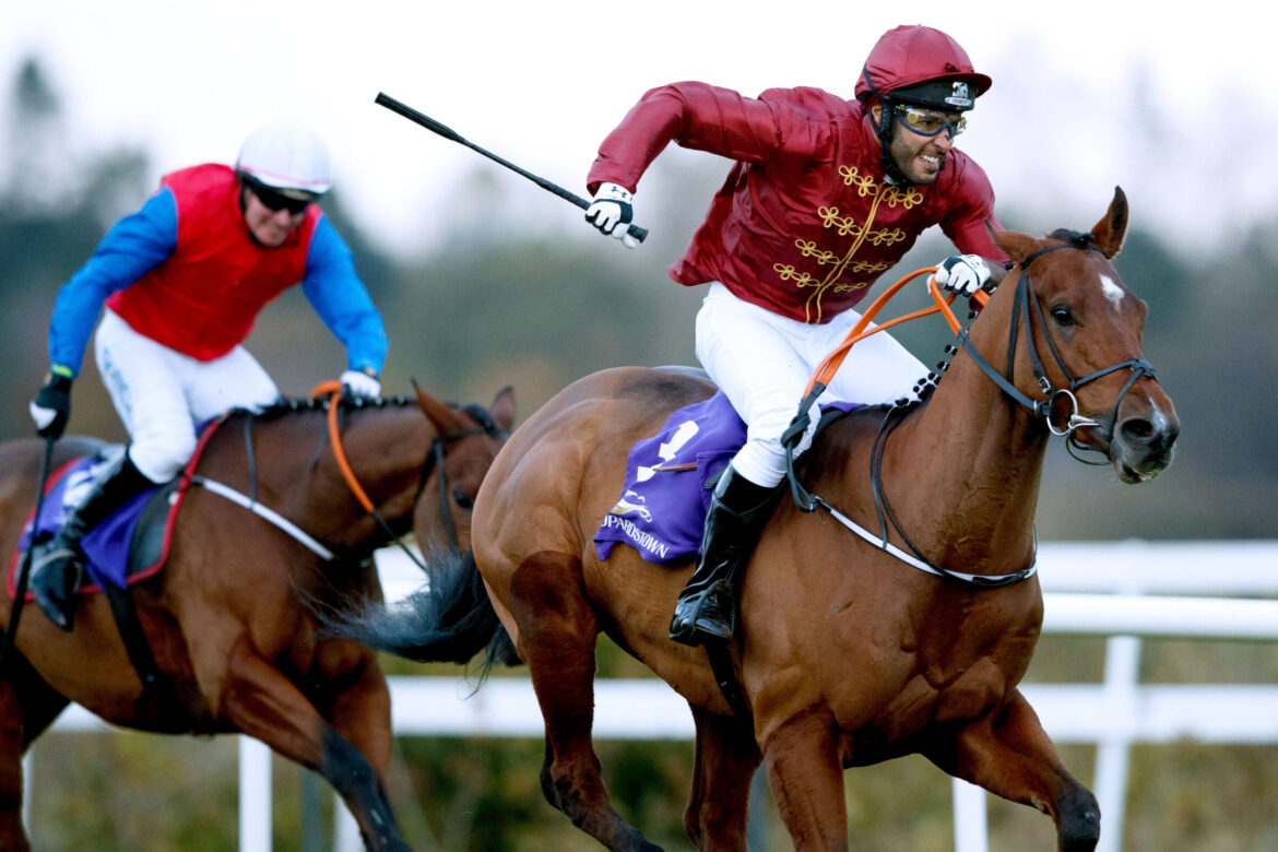 Lynne McLoughlin is overall winner of the Corinthian Challenge Series for Irish Injured Jockeys while Sheikh Fahad Al Thani wins race at Leopardstown