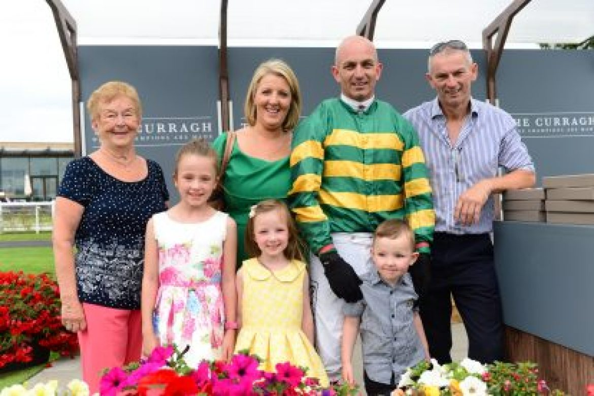 A million dreams come true for Graham Atkinson at The Curragh