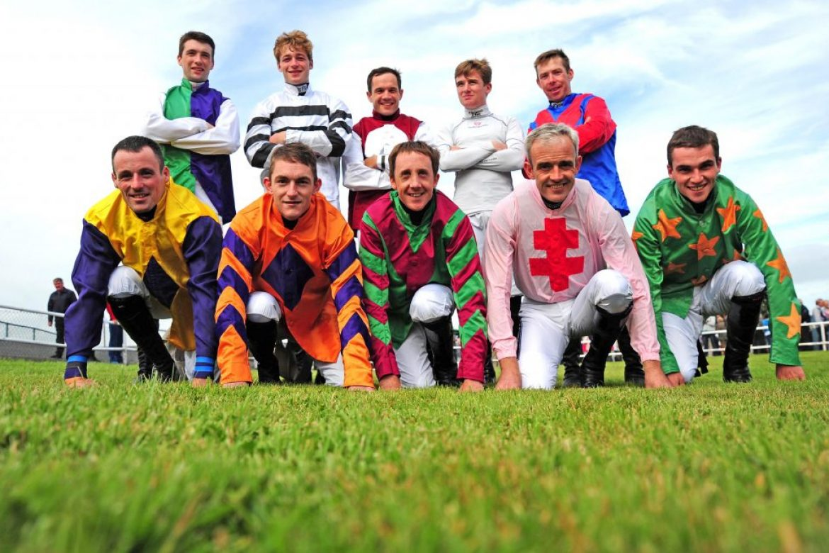 Racing Stars Under Starters Orders for Jog for Jockeys at Curragh on John Sisk & Son Race Day  Saturday September 1st