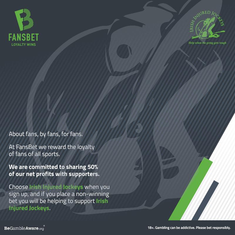 FansBet.com supporters of the Irish Injured Jockeys