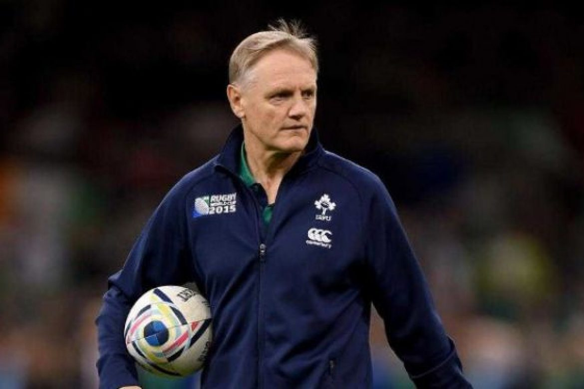 Horse racing charities present an audience with Joe Schmidt