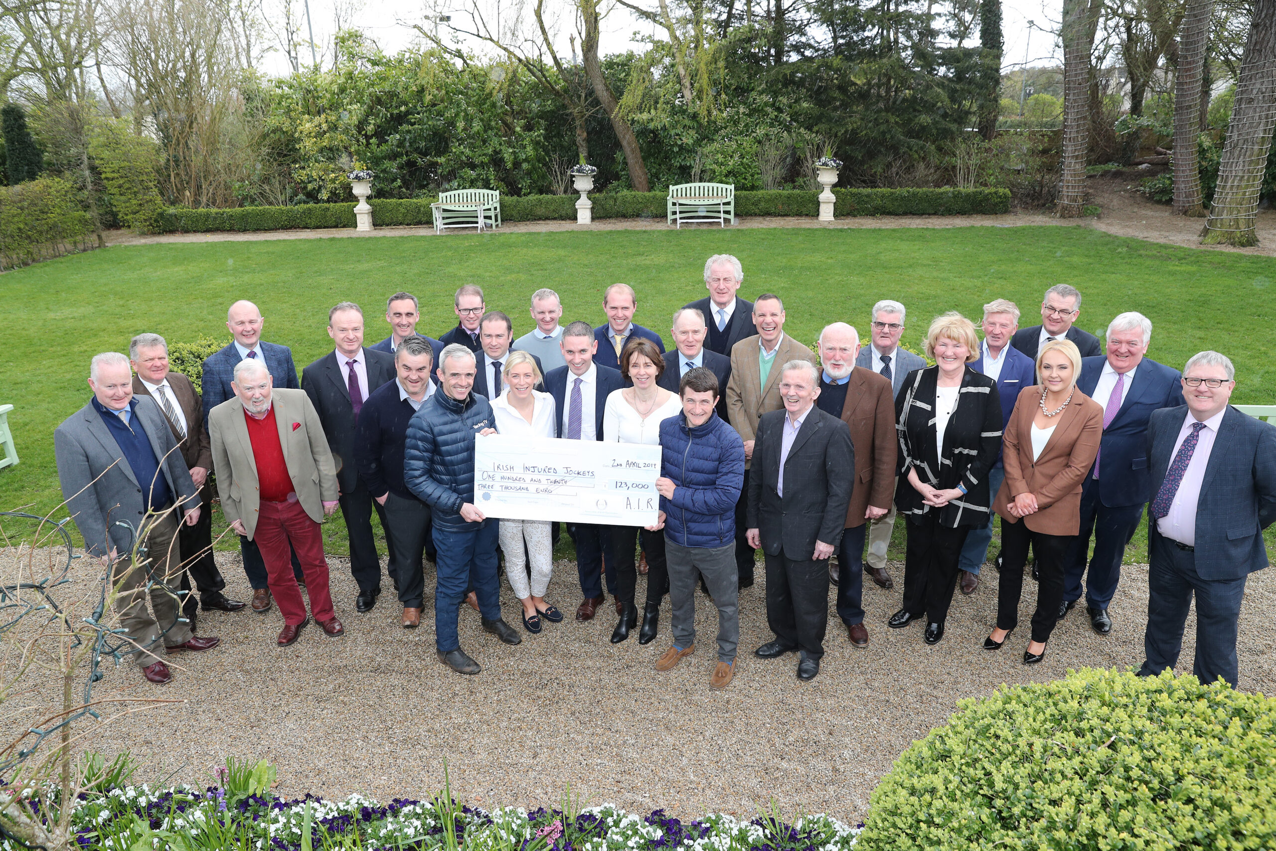 Association of Irish Racecourses pledge financial support to Irish Injured Jockeys