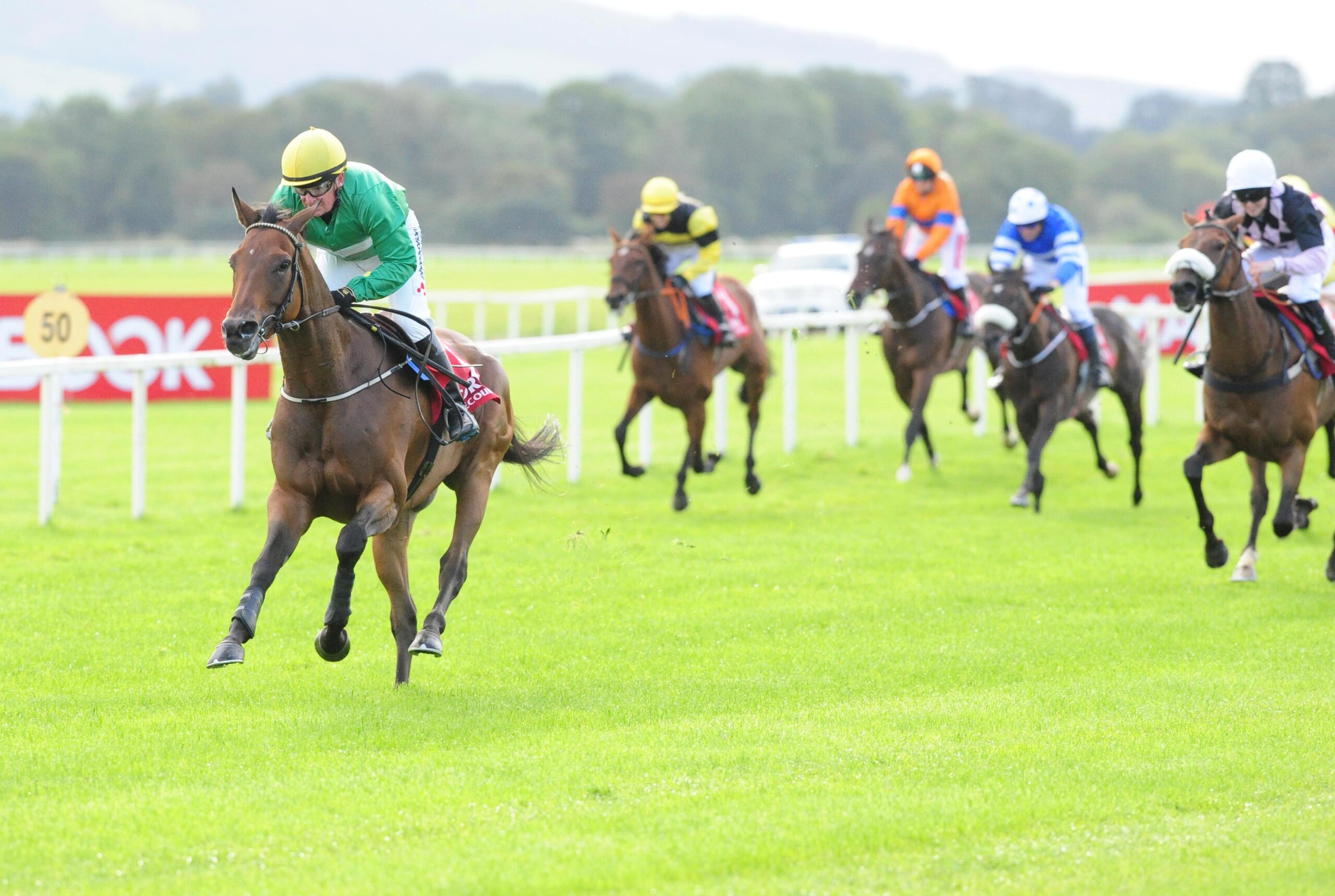 Paddy Woods wins the second race of The Corinthian Challenge Charity Race Series