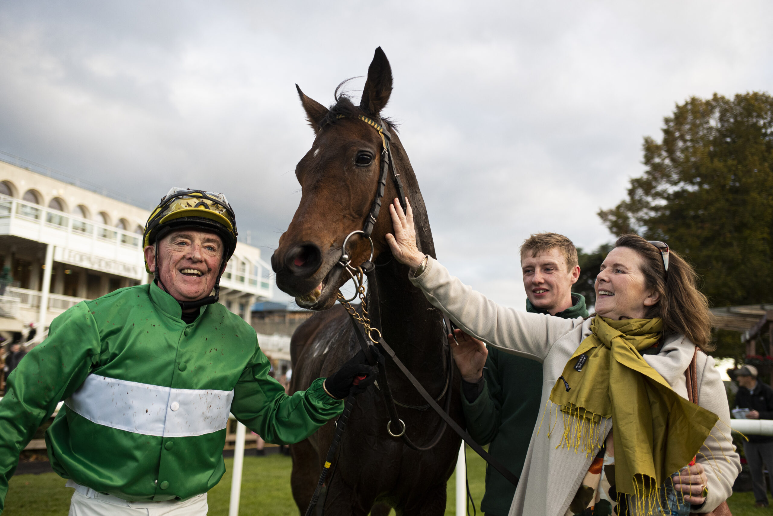 Racehorse owner Paddy Woods takes glory in IIJ Charity Race Series