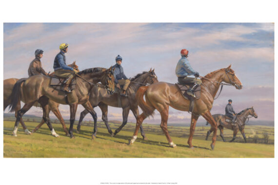 Irish Injured Jockeys Christmas Cards and CALENDARS now available
