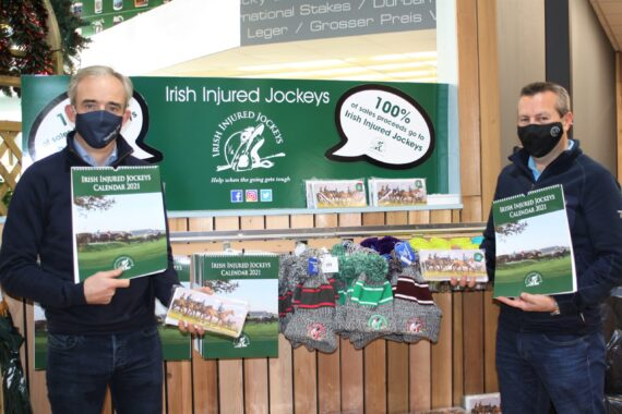 Irish Injured Jockeys launch Christmas cards and 2021 Calendars TRI Equestrian Superstore
